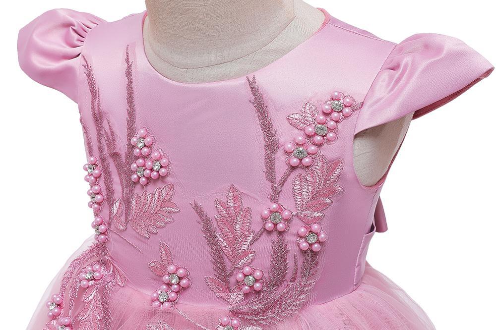 Girls Dress Christmas Kids Princess Dresses For Girls Clothing Flower Party Girls Dress Elegant For Girl Clothes 3-12Yrs wear 4