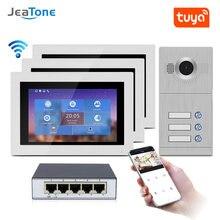 Видеодомофон с поддержкой wi fi ip 7 дюймов сенсорный экран