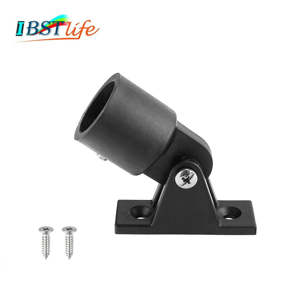 High Quality Nylon Boat Bimini Top Fitting Deck Hinge Slide Cap Pipe Eye End Cap External Eye End Canopy Tube Boat Accessories
