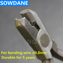 Heavy Hollow Chop Contouring Arch Forming Plier For Stainless steel  wire bending for maximum 0.9mm