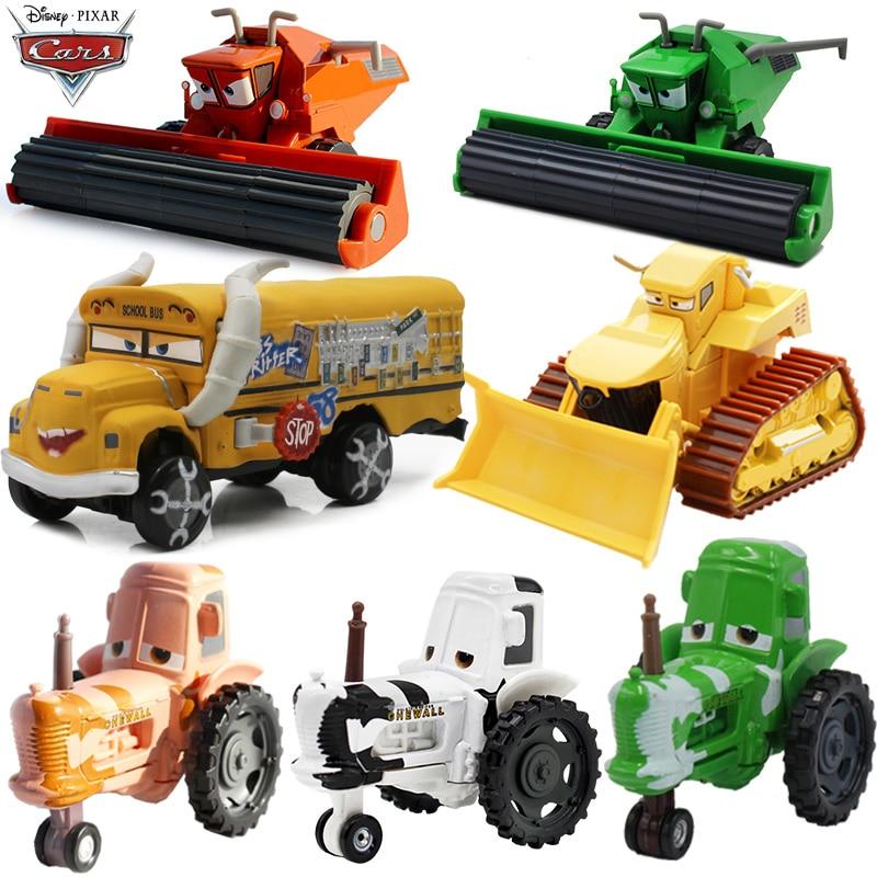 Disney Pixar arabalar 2 3 Metal Diecast araç yıldırım McQueen malzeme Jackson fırtına Ramirez araba oyuncak çocuk çocuk oyuncakları noel hediyesi