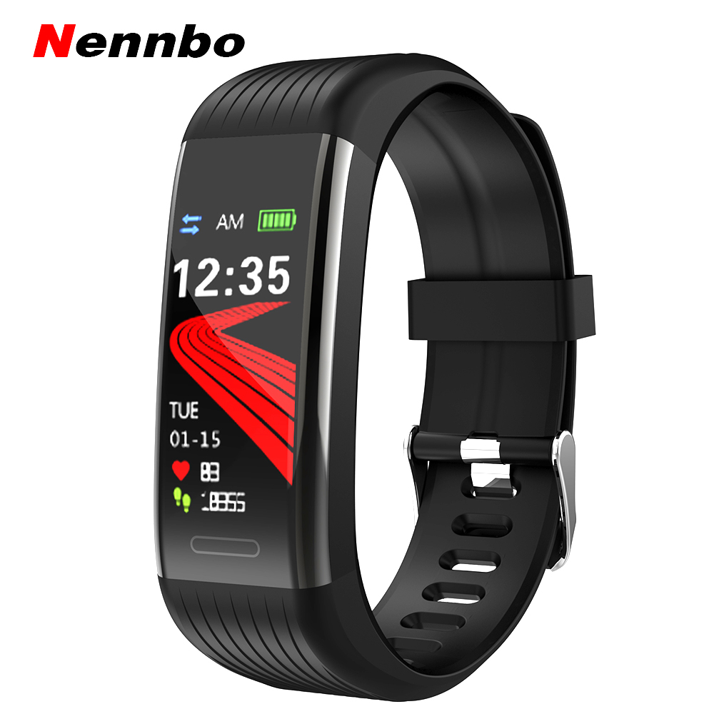Bluetooth <font><b>Smart</b></font> band Pedometer Herz Rate Monitor Blutdruck <font><b>Fitness</b></font> <font><b>Tracker</b></font> Sport <font><b>Smart</b></font> Uhr Wasserdicht <font><b>Smart</b></font> Armband image