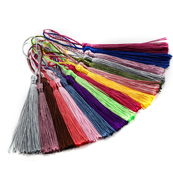 30pcs/lot 70mm Silk Tassel Hanging rope Fringe Pendant For DIY Key Chain Earrings Necklaces Jewelry Making Accessories Supplies 3m small tassel fringe trim craft tassel curtain hanging pendant diy room accessories key tassel wedding jewelry accessories