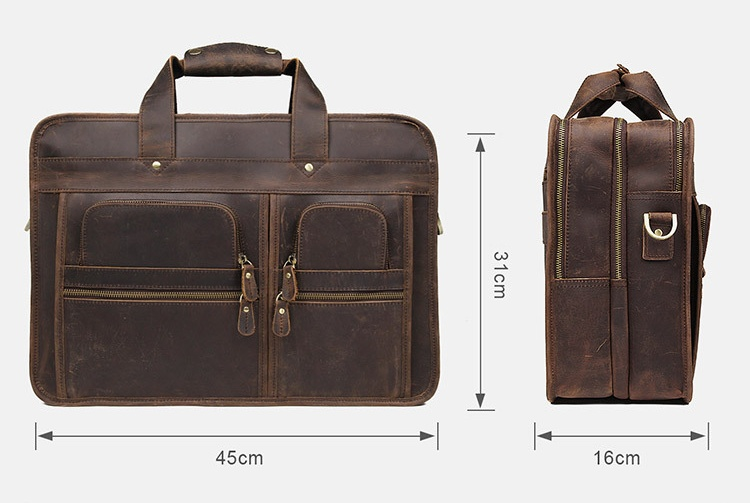 He27e75a8d6d54d3e899dc96d3805fb55V MAHEU Vintage Leather Mens Briefcase With Pockets Cowhide Bag On Business Suitcase Crazy Horse Leather Laptop Bags 2019 Design