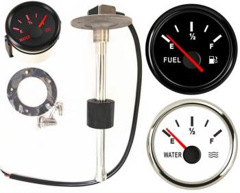 52mm Fuel Gauges 0-190ohm Cars Water Level Sensors 240-33ohm Truck Fuel Level Sensors 200 250 300 350 450mm 9-32vdc Sending Unit oxlade c cars level 3