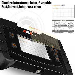 Image 2 - אנצ ל FX6000 OBD2 סורק מלא מערכת אבחון כלי OBD1 ECU קידוד תכנות מפתח TPMS ABS DPF שמן SRS איפוס סוללה IFIX969