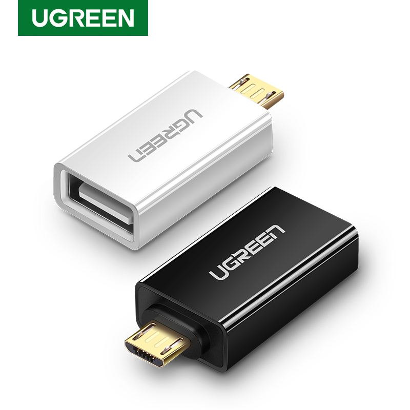 Ugreen OTG Adapter Micro USB To USB 2.0 Male To Female Converters Cables For Samsung Xiaomi Huawei LG Sony OTG Micro USB Adapter