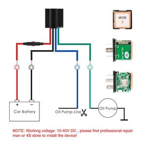 Image 5 - Mini relé GPS para coche, rastreador GPS MV720, 9 90V, control de combustible, vibración, alerta de exceso de velocidad, Geofence, APP gratuita PK CJ720 LK720