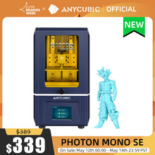 ANYCUBIC 3D drukarki Photon Mono SE 405nm żywicy UV drukarki z 6 cal 6