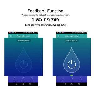 Image 5 - WiFi Caldaia Interruttore di Vita Intelligente Tuya App Riscaldatore di Acqua 16A Funzione di Temporizzazione di Controllo A Distanza di Voce ISRAELE Standard Alexa Google Casa