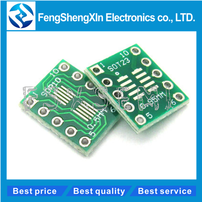 Electronics SOT23 to DIP Adapter PCB Board DIY Transfer Board