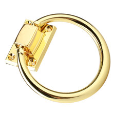 1 шт. винтажное круглое дверное кольцо из алюминиевого сплава мебельная фурнитура для ящиков шкафа Антикоррозийная ручка дверные кольца с винтами