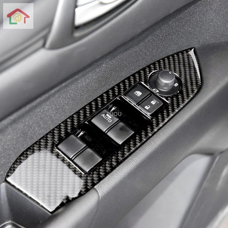 Car <font><b>Interior</b></font> Door Armrest Panel Window Switch Lift Buttons Cover Trim Sticker For <font><b>MAZDA</b></font> <font><b>CX</b></font>-<font><b>5</b></font> CX5 <font><b>CX</b></font> <font><b>5</b></font> 2017 <font><b>2018</b></font> 2019 <font><b>Accessories</b></font> image