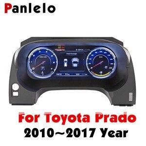 Image 1 - لوحة أجهزة Panlelo لوحة استبدال لوحة القيادة 12.3 بوصة الملاح مع أداة الكريستال السائل الكامل لتويوتا برادو SWC