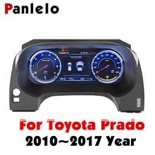 Panlelo Bảng Dụng Cụ Thay Thế Bảng Đồng Hồ 12.3 Inch Hàng Hải Với Đầy Đủ Tinh Thể Lỏng Nhạc Cụ Dành Cho Xe Toyota Prado SWC