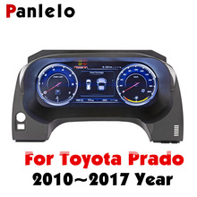 Panlelo Instrument Panel Replacement Dashboard 12.3 inch Navigator with Full Liquid Crystal for Toyota Prado SWC