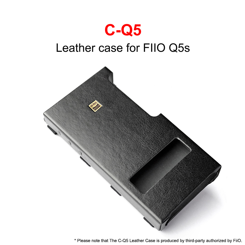 C-Q5 Leather Case For FiiO USB DAC Amplifier Q5 Q5S