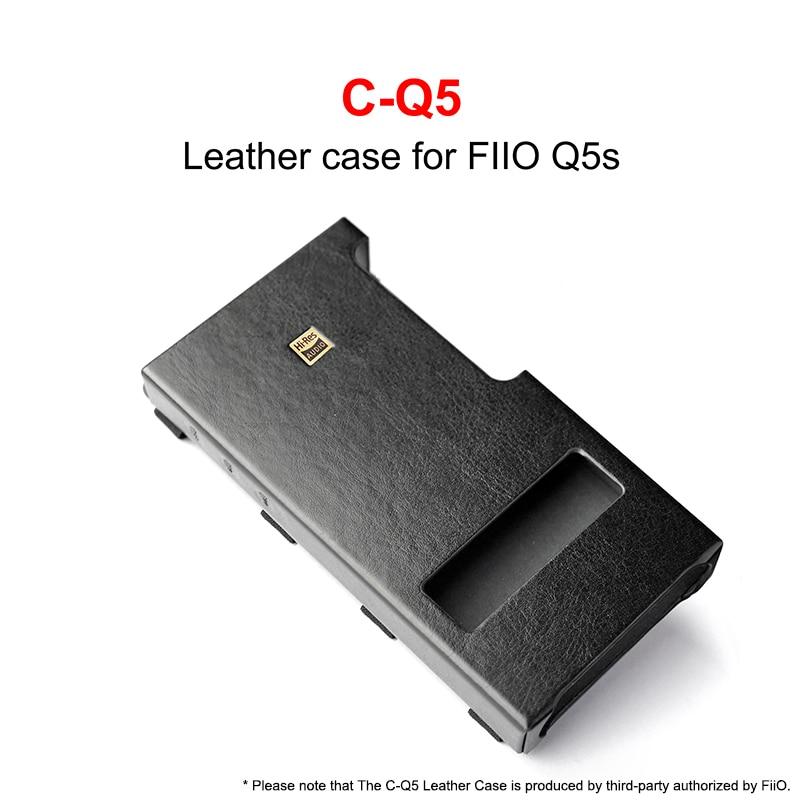 C-Q5 Leather Case For FiiO USB DAC Amplifier Q5 Q5S