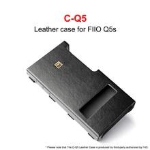 C Q5 Leather case voor FiiO USB DAC Versterker Q5 Q5S
