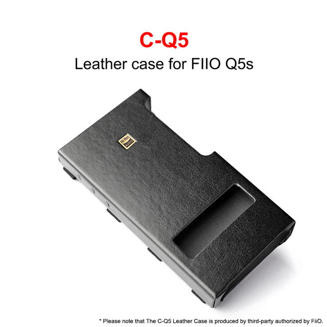 C Q5 için FiiO USB DAC Amplifikatör Q5 Q5S