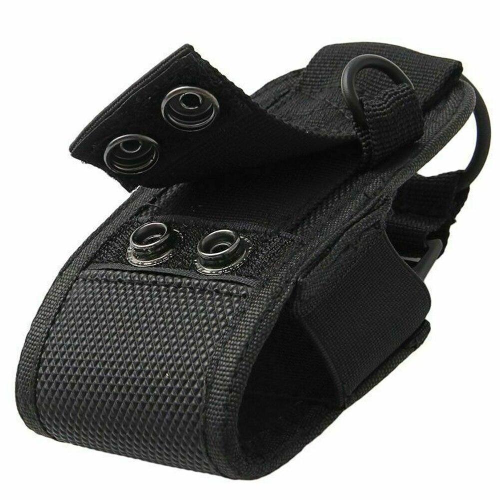 Карманный спортивный нейлоновый чехол для переноски, универсальный защитный чехол, аксессуары, регулируемая Портативная сумка для рации