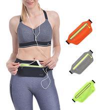 GloryStar Unisex Running Sports Cell Phone Pocket Multifunction Waterproof Waistbag Lightweight Bag