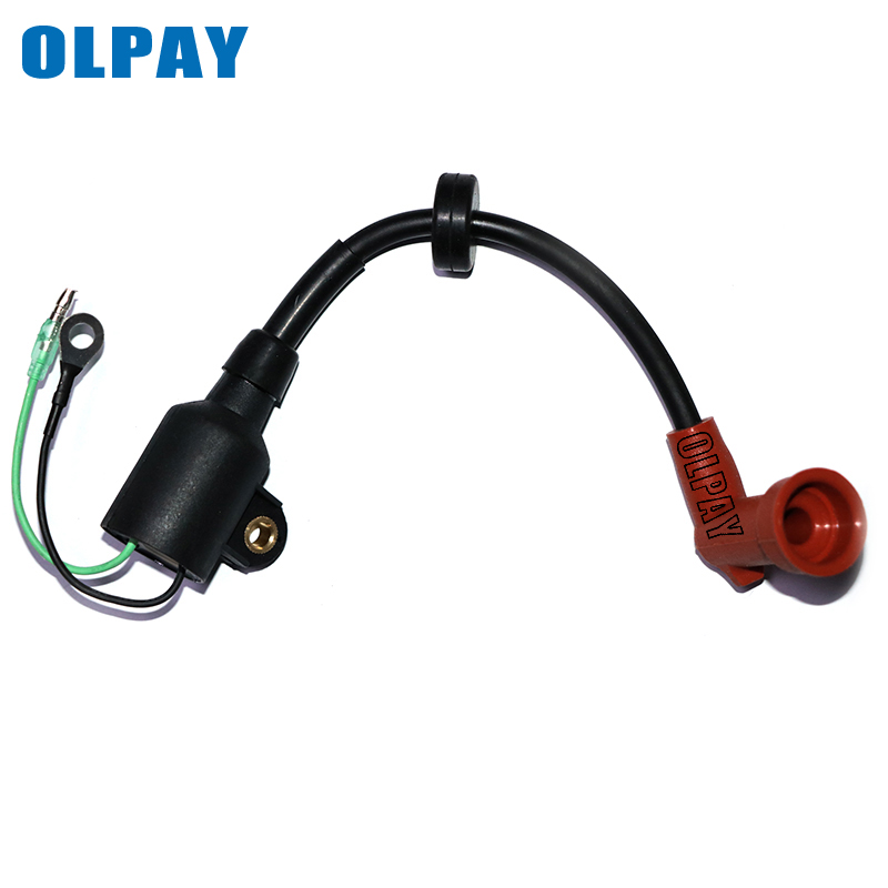 IGNITION COIL Assy fit Yamaha Outboard Parsun 9.9HP 15HP 15 9.9 E 63V-85570-00 6