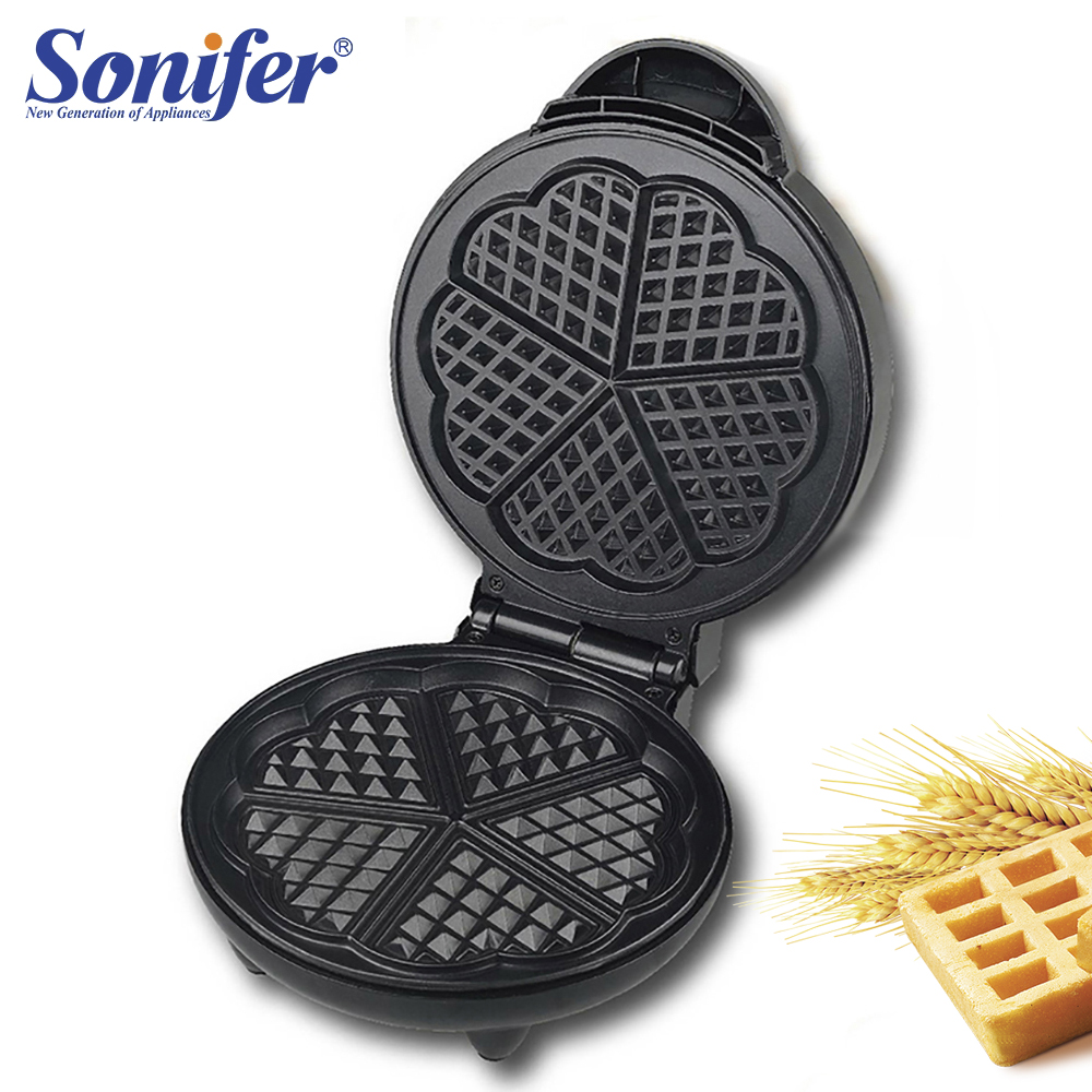 220V Household Electric Waffle Maker Electric Waffle Iron Machine Bubble Egg Cake Oven Breakfast Machine Sonifer