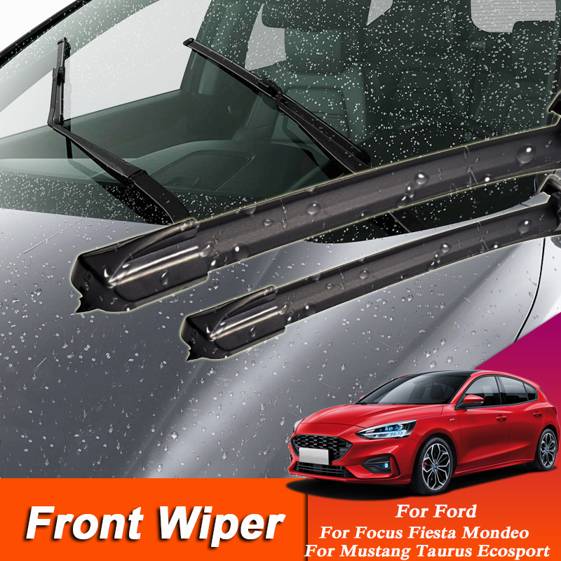 2pcs Car Wiper Blade Windscreen Wipers For <font><b>Ford</b></font> Focus <font><b>Fiesta</b></font> Mondeo <font><b>Fiesta</b></font> Explorer Kuga Windshield Rubber Auto Wiper <font><b>Accessory</b></font> image
