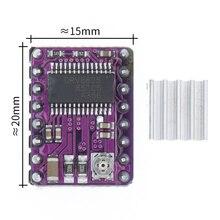 50 unids/lote 3D impresora StepStick DRV8825 Motor paso a paso transportador Reprap 4 capas rampas PCB