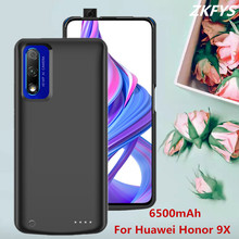 Power Case For Huawei Honor 9X Charger Battery Power Case 6500mAh Large Capacity External Power Bank Phone Charger Battery Cases