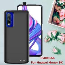 цены на Power Case For Huawei Honor 9X Charger Battery Power Case 6500mAh Large Capacity External Power Bank Phone Charger Battery Cases  в интернет-магазинах