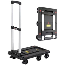 Luggage-Cart with 300kg Heavy-Duty Capacity Portable Hand-Truck for Construction