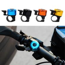 цена на Loud Clear Sound Alloy Bike Handlebar Bell Bicycle Cycling Mini Alarm Warning Ring  Safety Bicycle Accessories