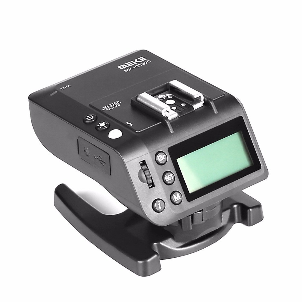 MEIKE MK-GT620 2.4G Wireless TTL Macro Flash Transmitter Receiver For Sony DSLR Camera