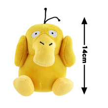 Psyduck Big Bright Anime Eevee Cartoon Figure Series Small Eyes Plush Doll Stuffed Animal Kids Toys Great Gift(China)