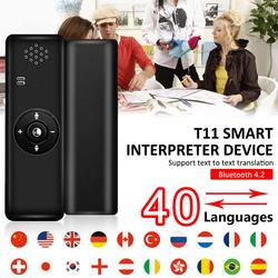 Portable Smart Language Translator Device Real Time Handheld Interpreter Support 40 Languages for Learning Travelling Business