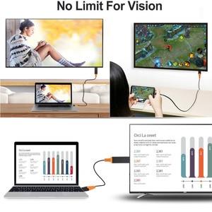 Image 5 - USB 유형 C HDMI 케이블 Macbook 용 HDTV AV 비디오 어댑터 LG G5 Samsung Galaxy S10 + S10e S9 + S8 + Note9 참고 8 Android Phone to TV