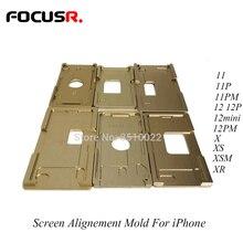 Màn Hình Cảm Ứng LCD Kính Vị Trí Căn Chỉnh Khuôn Cho iPhone X XS XSMax 11 11Pro Max Vị Trí Khuôn Sửa Chữa Điện Thoại Di Động dụng Cụ Bộ