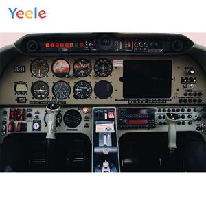 Yeele Aircraft Technology Theme Party Birthday Child Photography Backdrops Portrait Photographic Backgrounds For Photo Studio