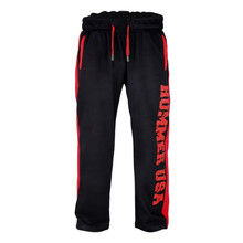 2019 new gym brand mens fitness trousers jogger loose bodybuilding sportswear black sweatpants