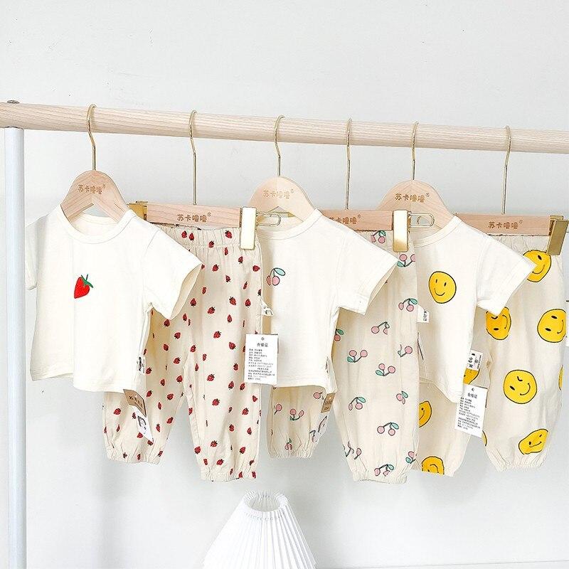 Подходящая семейная одежда, наряды, одежда для мамы и дочки, футболка, штаны, брюки, модные комплекты одежды с изображением героев мультфиль...