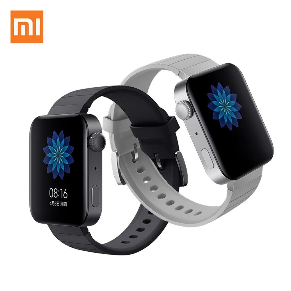 Xiao mi mi montre GPS NFC WIFI ESIM téléphone appel Bracelet Android montre-Bracelet intelligente Sport Bluetooth Fitness moniteur de fréquence cardiaque piste