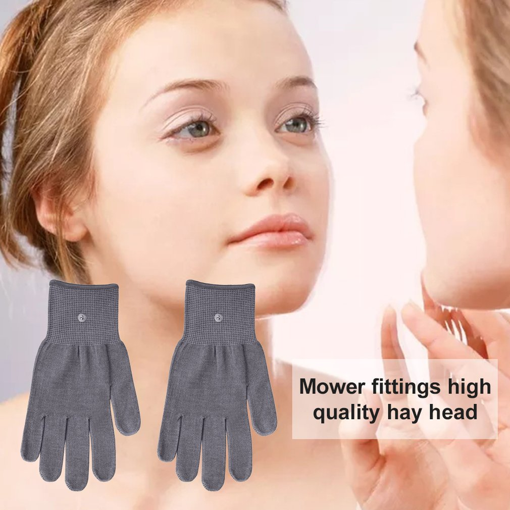 Seven-in-one High-frequency Microseismic Slimming Face Ultrasonic Shaping Massage Firming Skin Beauty Instrument And Gloves
