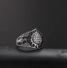 Винтажные геометрические циркониевые кольца в готическом стиле