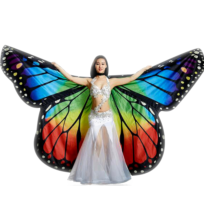 Butterfly Belly Dance Isis Wings Fashion Belly Dancing Fairy Wings Stage Performance Show Props Angel Wing