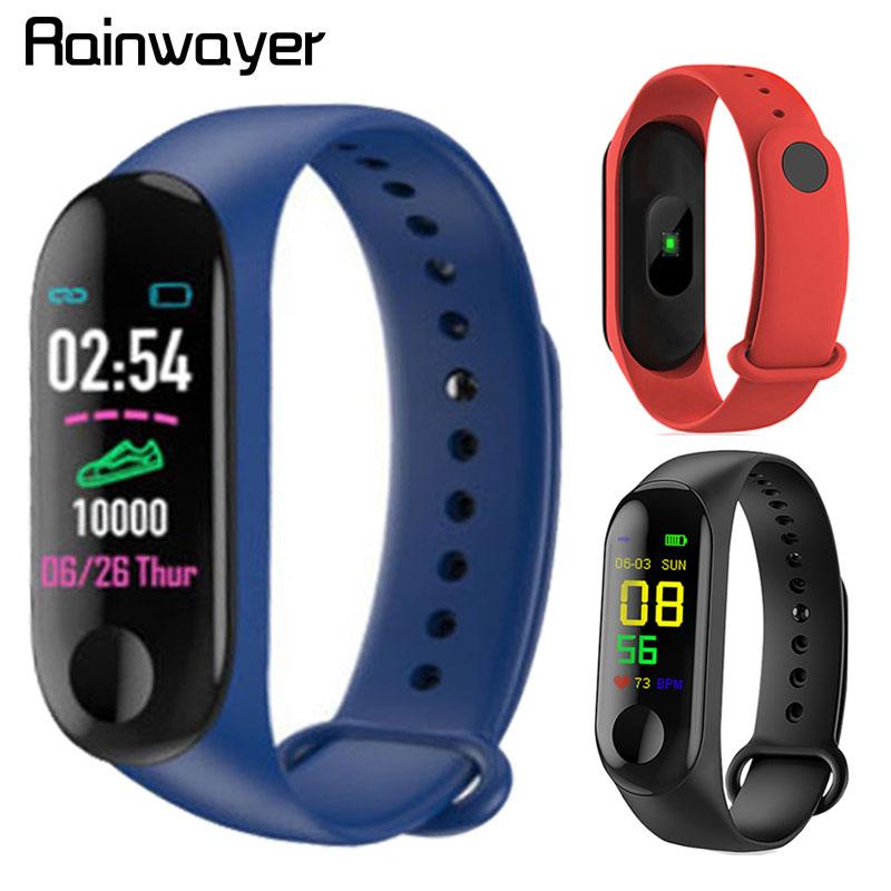 M3 Pro Smart Watch Sport Smart Band Blood Pressure Monitor Smart Wristband Smartwatch Bracelet M3 Plus Wristband for Men Women(China)