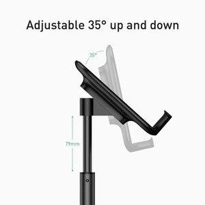 Image 4 - Baseus Einstellbare Handy Halter Für iPhone 12 11 Pro Max XS Teleskop Desktop Halterung Tablet Ständer Für Samsung Huawei