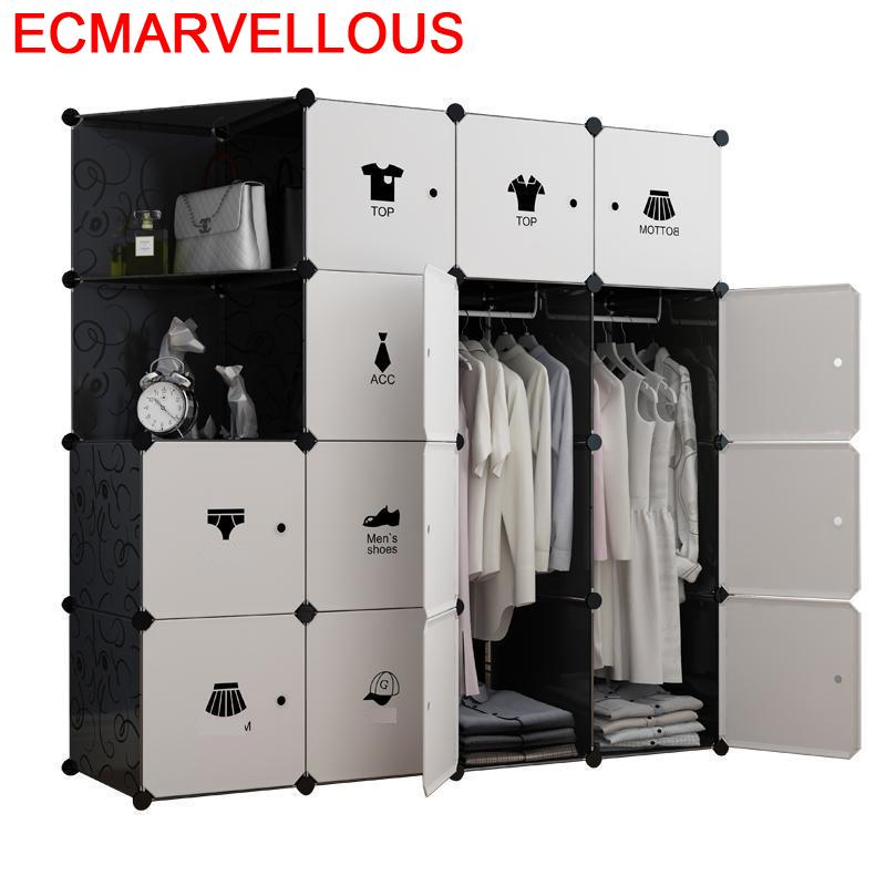 Dresser Yatak Odasi Mobilya Ropero Armario De Armazenamento font b Closet b font Cabinet Guarda Roupa