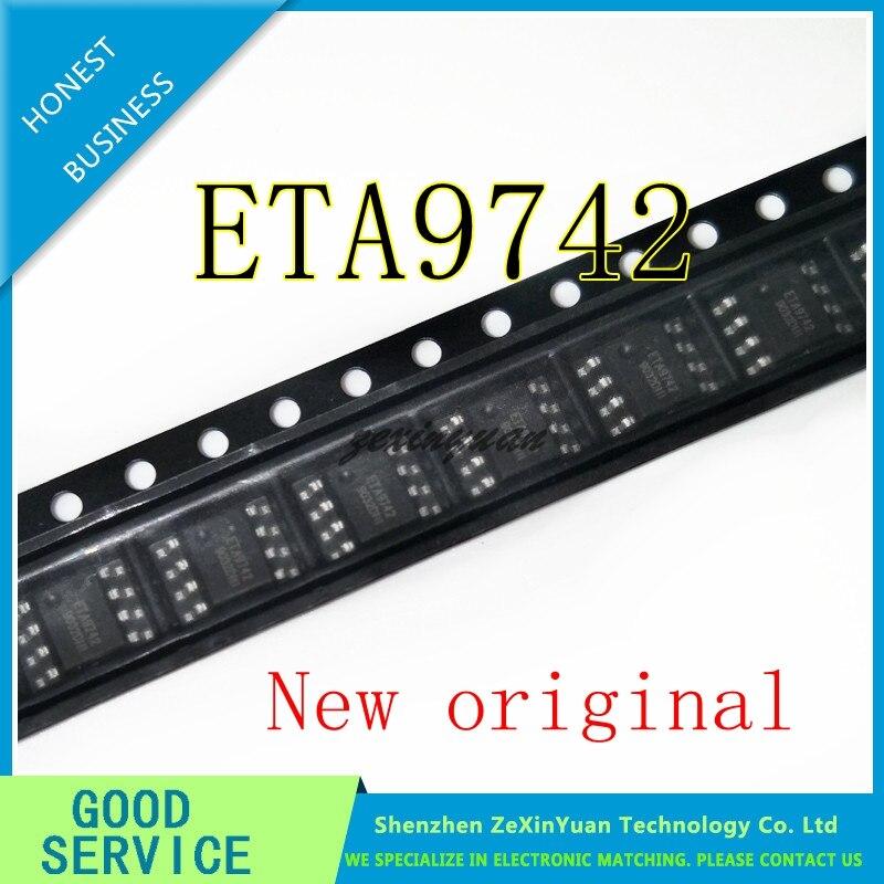 5 Pcs ETA9742 9742 Sop-8 Nieuwe Originele Synchrone Rectificatie Ic Mobiele Voeding Vijf In Een Chip